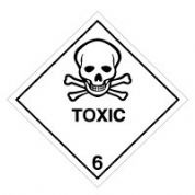 Hazard safety sign - Toxic (6) 067